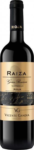 Tempranillo Raiza Rioja Gran Reserva 2010