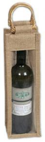 Jute Bag - 1 Wine Bottle