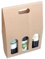 Paper Wine Bag - 3 Bottles